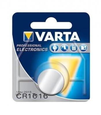 Varta CR1616 Lithium 3V 55mAh 6616