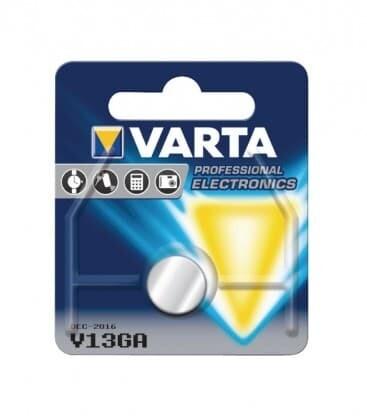Varta Button Battery V 13 Ga V13ga Lr44 1.5 Volt 1.5v Alkaline 1 Pack - to be used until 02/2024