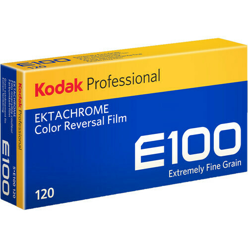 Kodak Professional Ektachrome E100 Color Transparency Film format 120 5-er Pack expired 04/2022