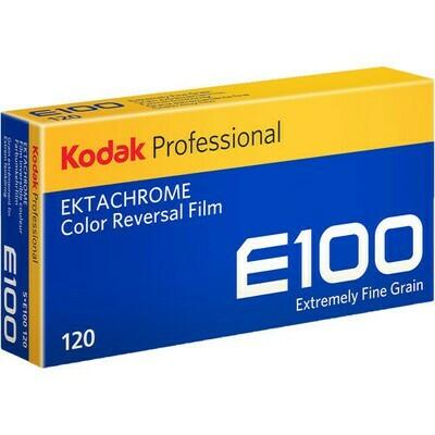 Kodak Professional Ektachrome E100 Color Transparency Film format 120 5-er Pack expired 04/2022
