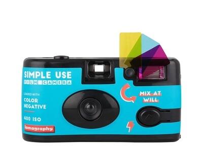 Lomography Simple-Use Filmkamera +Color Negativ 400 135-36 Film date 01/2022