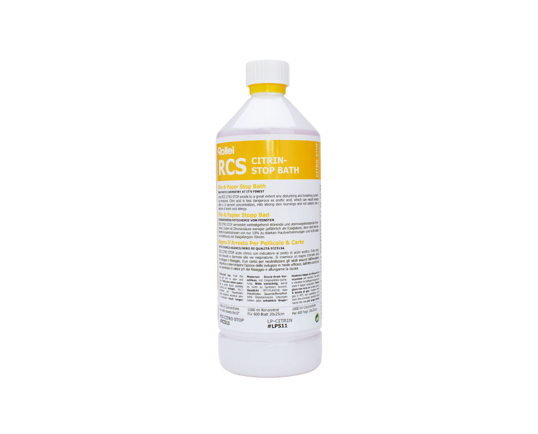 Rollei RCS Citrin Stop bath 1 Liter Bottle.