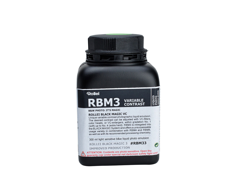Rollei Black Magic 3 Fotoemulsion Gradation variabel 300ml