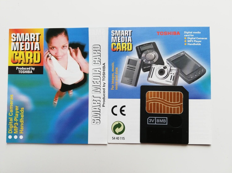 8MB Toshiba SmartMedia Card