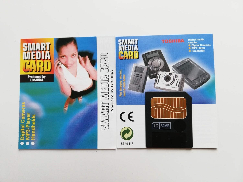 32MB Toshiba SmartMedia Card