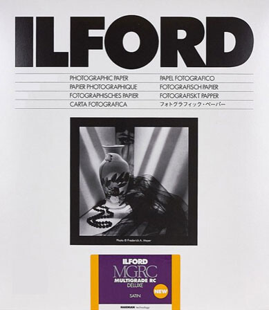 Ilford Multigrade V 25M Satin Format 12.7x17.8cm - 5x7 Inch 25 sheets (1180464)