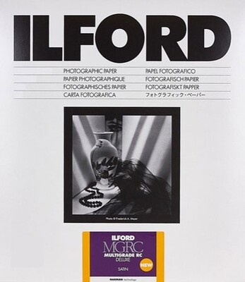 Ilford Multigrade V 25M Satin Format 30,5x40,6cm 50 sheets (1180585)