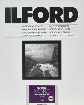 Ilford Multigrade V 44M Pearl Format 17.8x24cm - 7x9.5 Inch 100 sheets (1180233)