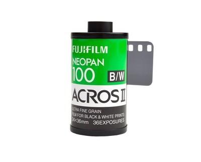 Fujifilm Neopan Acros 100 II - Format 135/36 Date 12/2021