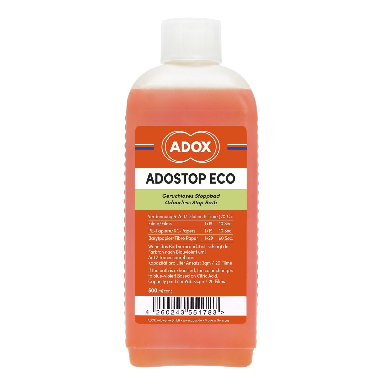 Ecostop universal stop bath 500 Milliliter Bottle.