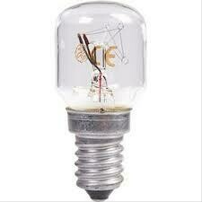 GE bulb shaped lamp 15W 823 E14 clear