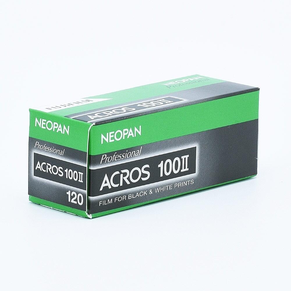 Fujifilm Neopan Acros 100 II - Format 120 expired 12/2021