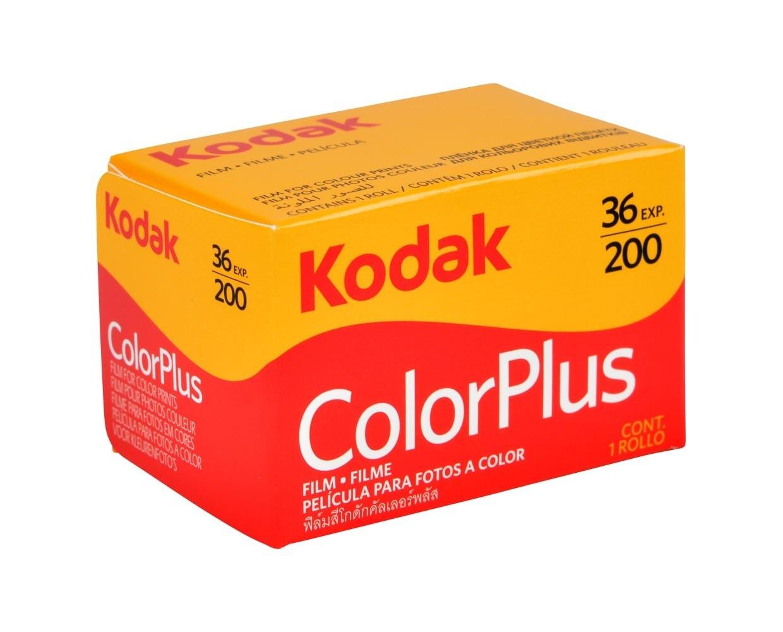 Kodak 35mm Color Plus 200 Negative Film (36 Exposure) Expired 08/2023