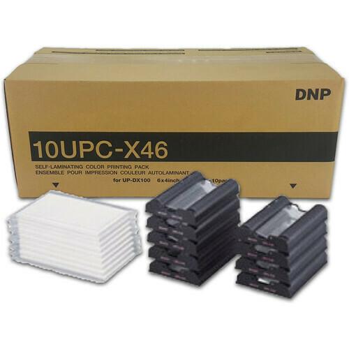 DNP 10UPC-X46 Media Set 90x101 mm 250 Blatt Fotolusio