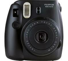 Fuji Instax Mini 8 Camera, Analog - Black