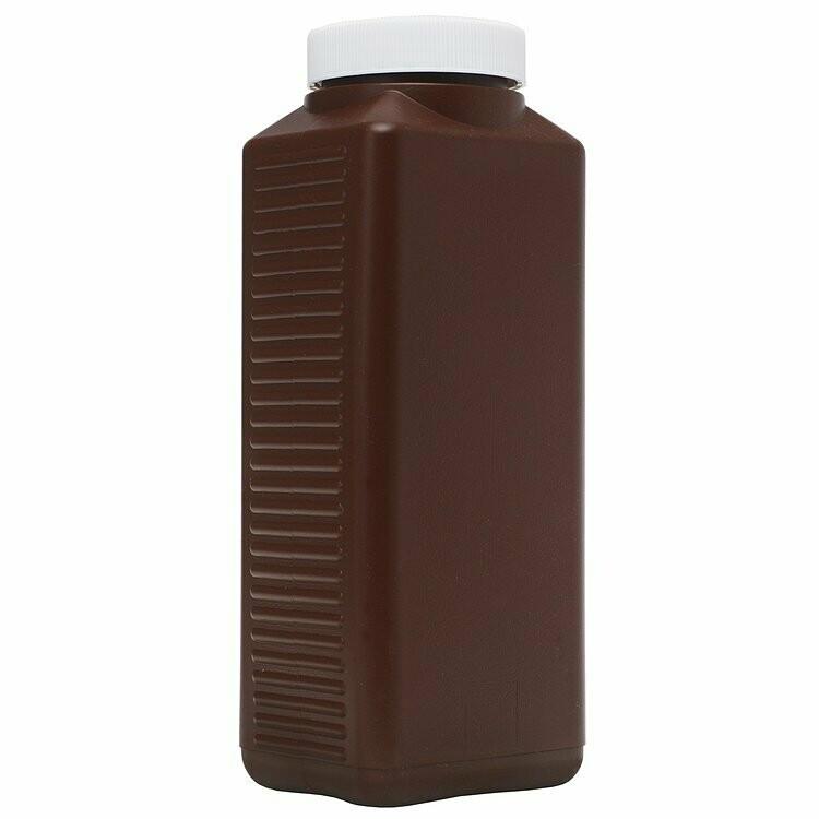 Peva chemical storage bottle brown 1,000ml