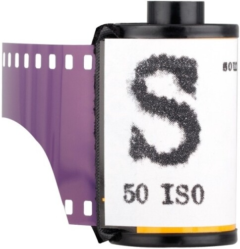 "WASHI Film ""S"" - 50 iso black & white sound recording film"