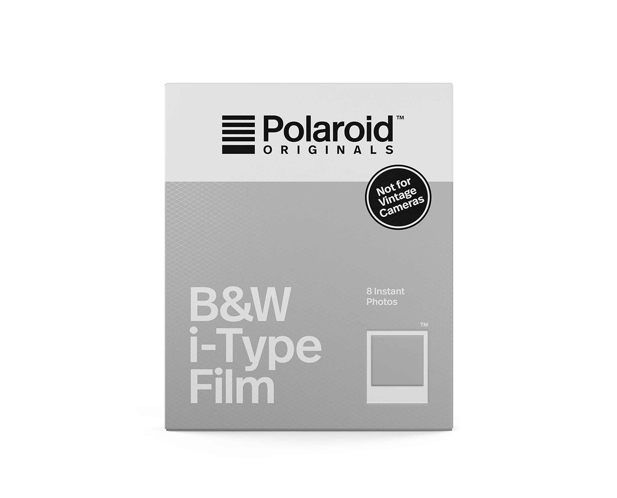 Polaroid Originals B%W i-Type Instant Film (8 Exposures)