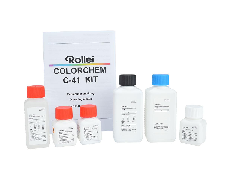 Rollei Colorchem C-41 Kit 1 Liter for 12 - 16 films
