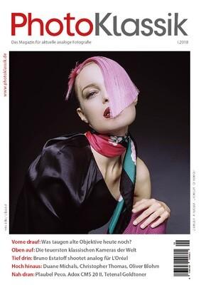 PhotoKlassik: das Magazin für aktuelle analoge Fotografie - Ausgabe I.2018
