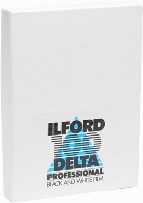 Ilford Delta-100 Professional format 13x18 CM (5,1x7,08 INCH) 25 sheets - Place orders by friday 14th august 2020