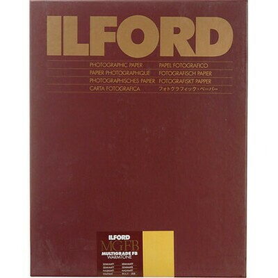 Ilford MGFBWT24K Multigrade FB Warmtone 1M semi-matt Paper -  24x30,5cm / 9.5x12 Inch - 50 Sheets 1884382