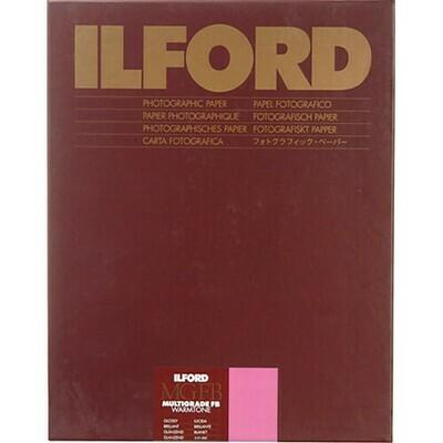 "ILFORD MGFBWT 1K Multigrade FB Warmtone Glanz 1K  24 x 30.5cm (9.5 x 12"") 50 sheets 1865462"