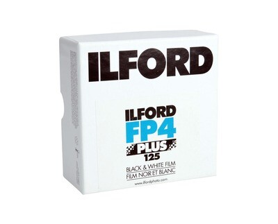 ILFORD fp4 35 mm x 30,5 m Rollfilm