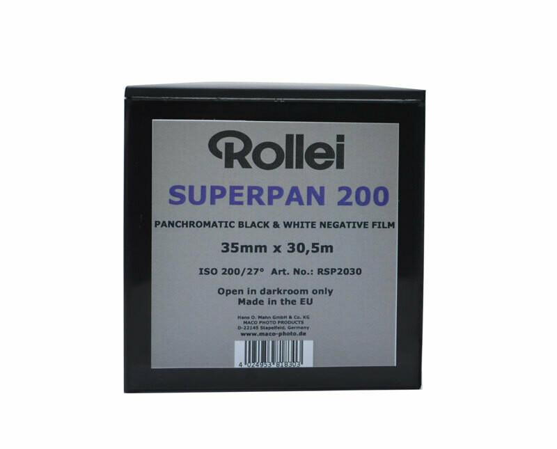 Rollei Superpan 200 Kleinbild Film 35mm x 30,5m