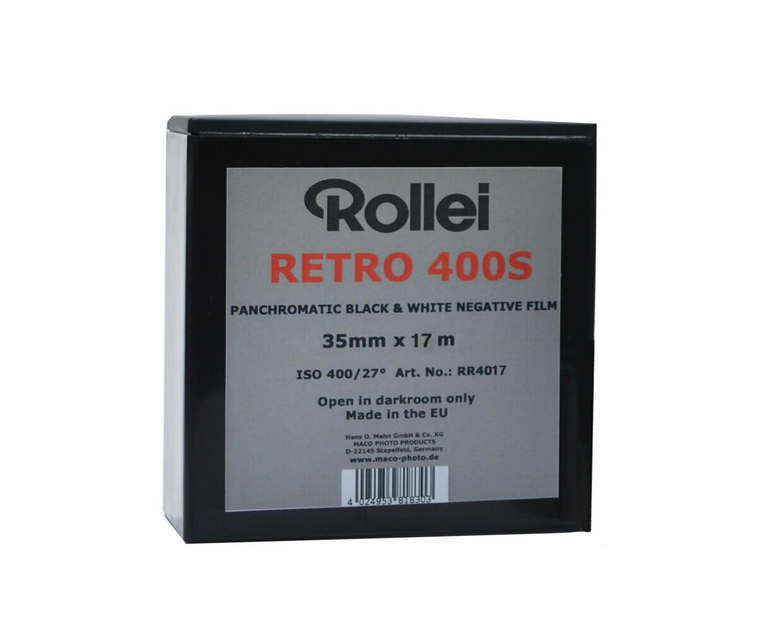 Rollei Retro 400S Kleinbildfilm 35mm x 30,5meter