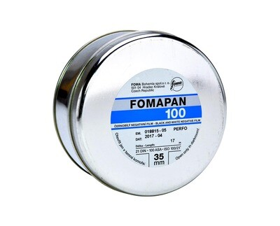 Fomapan 100 Classic 35mm x 30,5meter - pre-order now available from approx. 24.05.2021