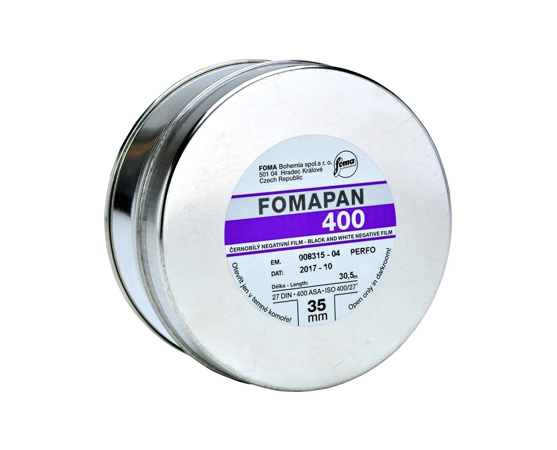 Fomapan 400 Action Kleinbildfilm 35mm x 30,5meter expired 03/2024