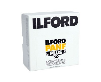 ILFORD Pan F Plus 50, 35mm x 30,5meter