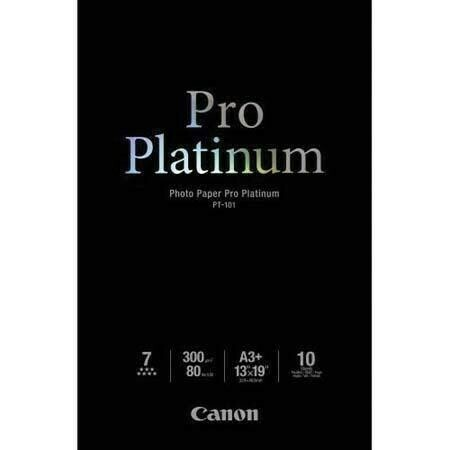 Canon PT-101A3+ Photo Paper Pro Platinum 300g/m2, A3+ 10 sheets (2768B018)