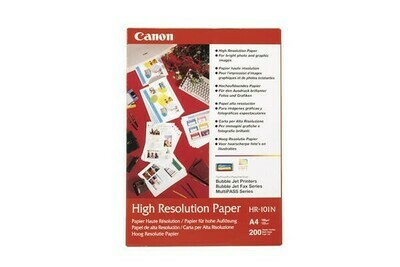​Canon plain paper HR-101N high resolution A4 (210 x 297 mm) 106 g/m² - 50 sheets (1033A002)