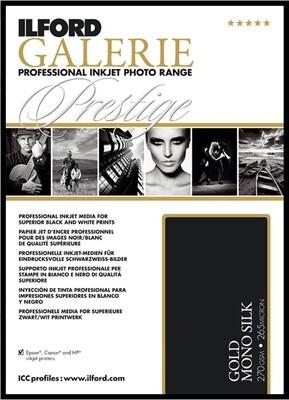 Ilford Galerie Prestige Gold Mono Silk A4 270 gr. 25 Sheets