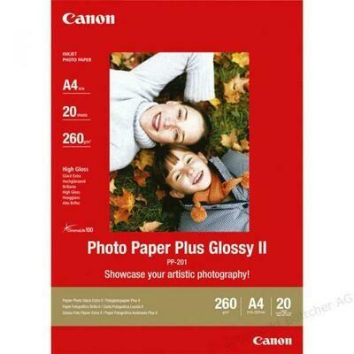 Canon Photo Paper Plus PP-201 A4 (2311B019) - 20 sheets