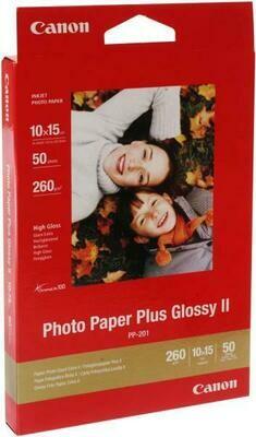 Canon Photo Paper Plus PP-201 10x15cm (2311B003)  - 50 sheets