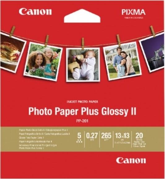 Canon Photo Paper Plus PP-201 13x13cm (2311B060) - 20 sheets