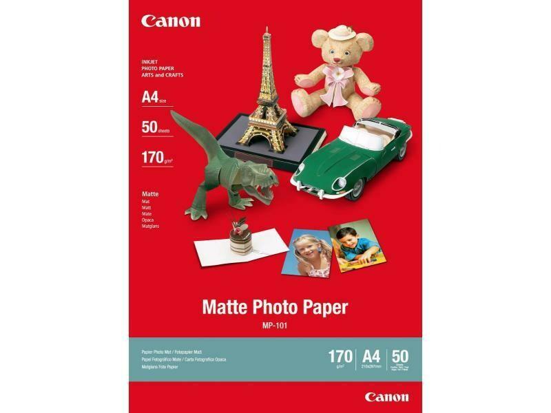CanonMatte Photo Paper Plus MP-101 A4 (7981A005) - 50 sheets