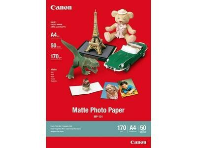 CanonMatte Photo Paper Plus MP-101 A4 (7981A005) - 50 sheets