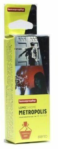 Lomography LomoChrome Metropolis 100-400 Film 110 Cartridge 24 Exposures  expired 10/2023