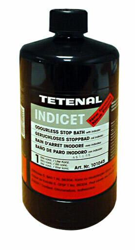 Tetenal Indicet Stoppbad geruchlos Flüssig mit Indikator (101045)