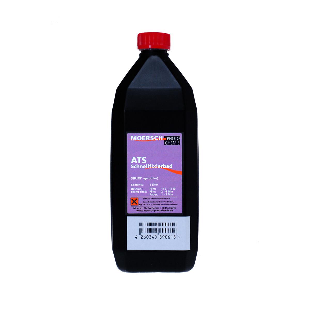 Moersch ATS acidic rapid fixing bath 1 litre concentrate
