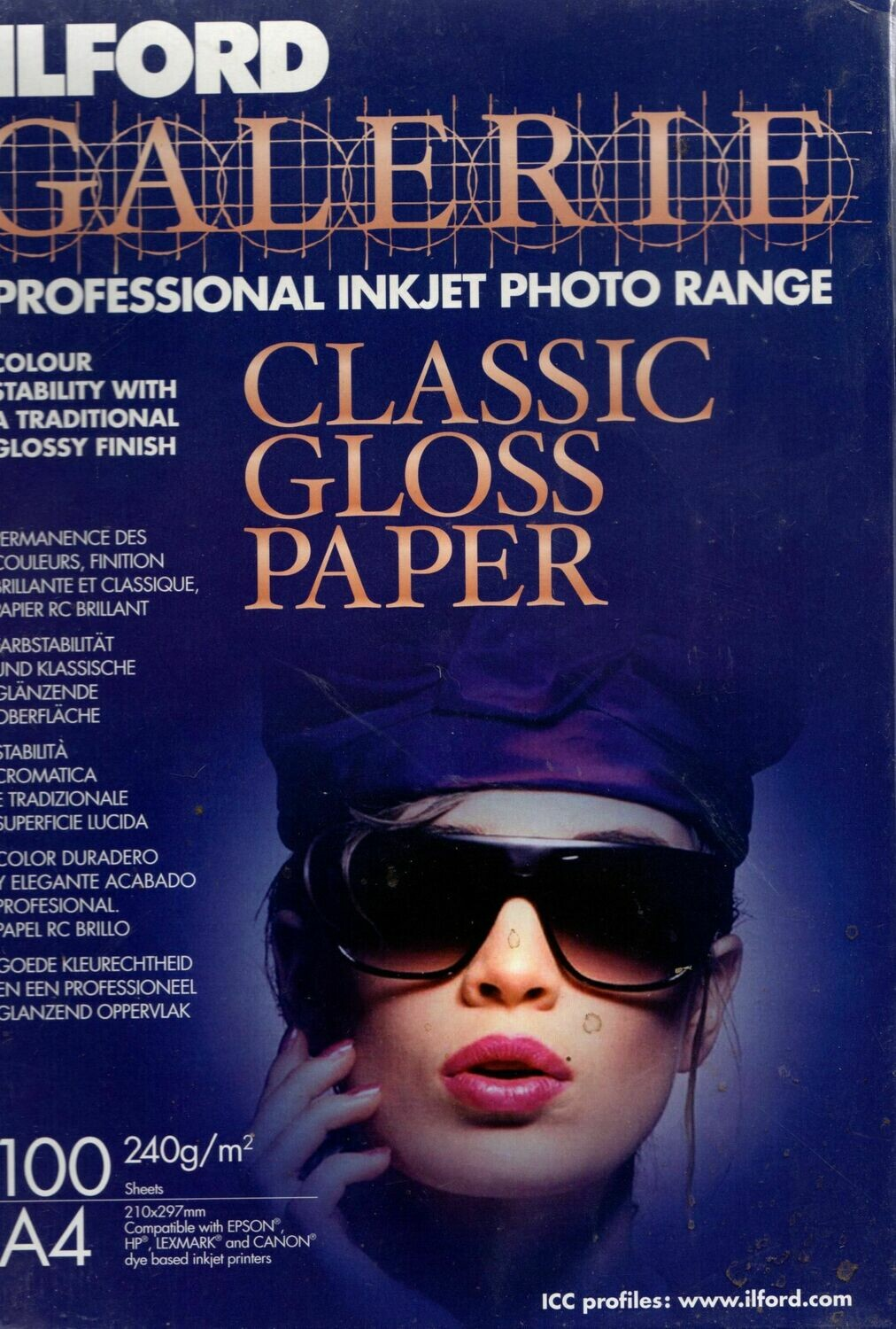 Ilford Galerie Classic Gloss Fotopaper A4 - 100 sheets
