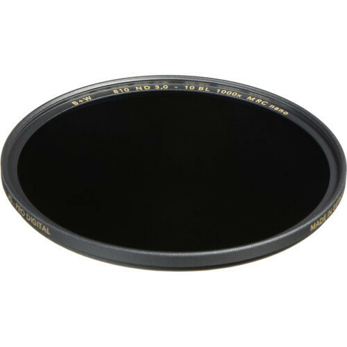 B+W 40.5mm XS-Pro MRC-Nano 810 ND 3.0 Filter (10-Stop) 1089239
