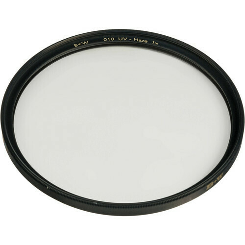 B+W 55mm UV Haze (010) 55mm F-Pro Filter - 70107