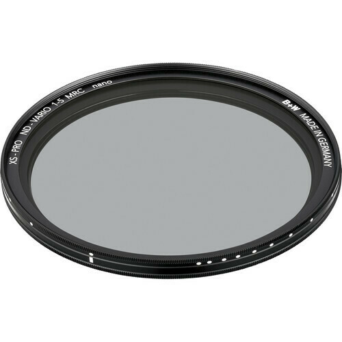 B+W 62mm XS-Pro Digital MRC nano Vario ND Filter - 1075249