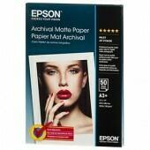 Epson Archival Matte Paper 192 g/m², DIN A4 (21x29,7 cm), 50 Blatt