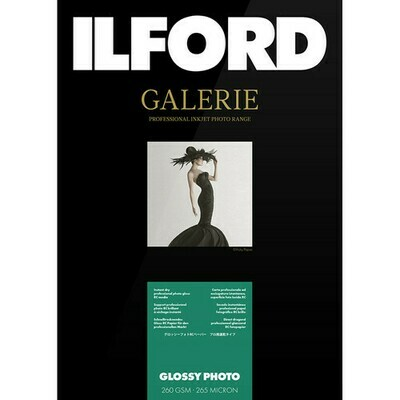 Ilford Gallery Glossy Photo 260 g/m², 10.2x15.2 cm / 4x6 inches, 100 sheets (2004024)